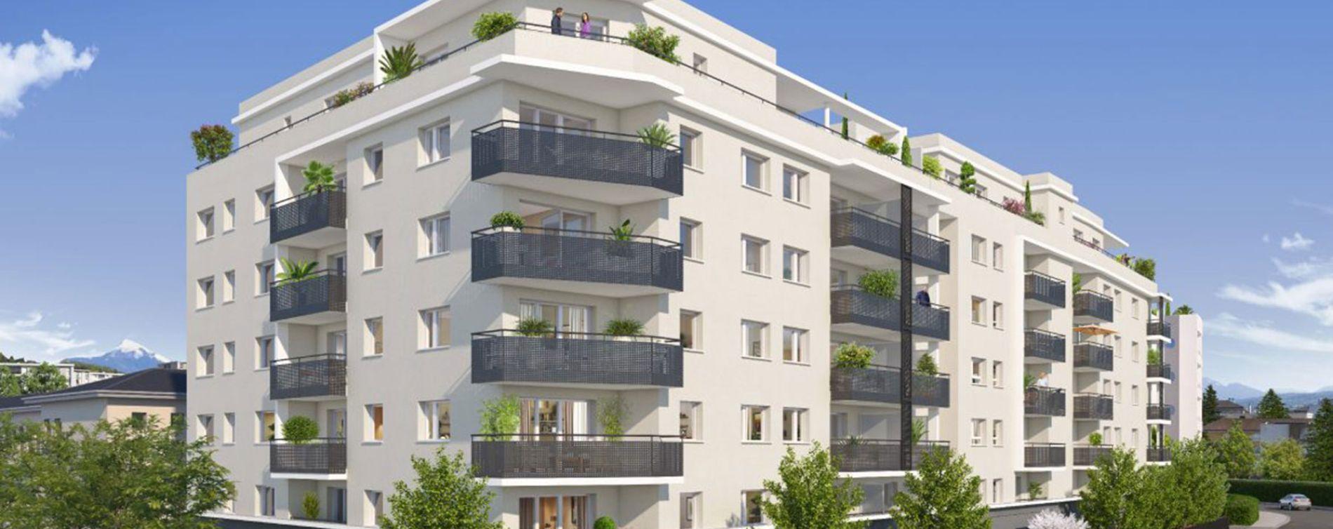 Annemasse : programme immobilier neuve « Shiro » (2)