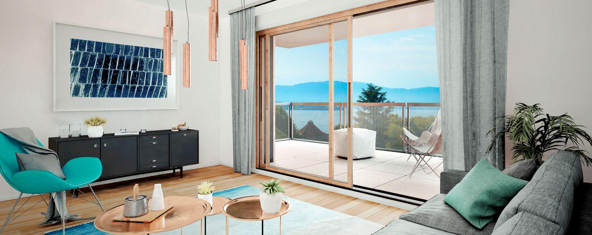 Anthy-sur-Léman : programme immobilier neuve « Ecrin Léman » en Loi Pinel (4)