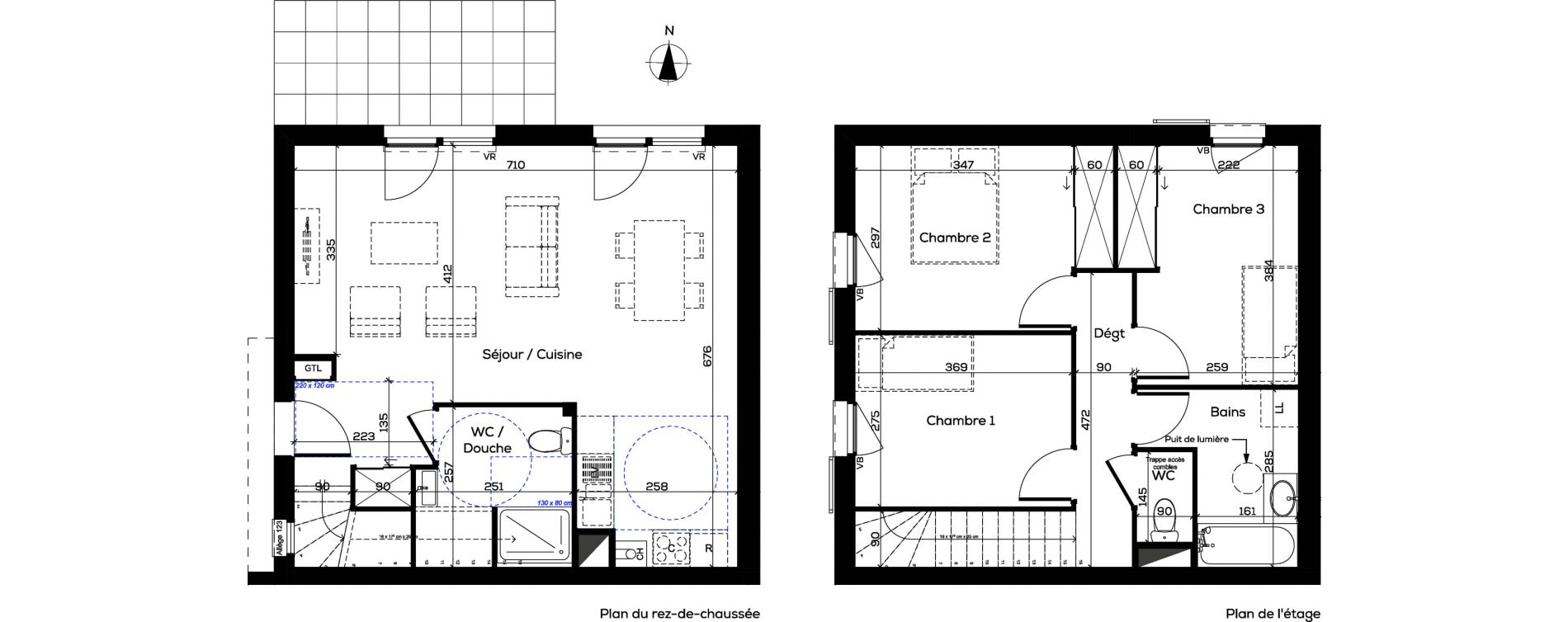 Villa T4 de 86,76 m2 à Arenthon Centre