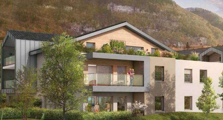 Résidence « L'Ôrée » programme immobilier neuf en Loi Pinel à Beaumont