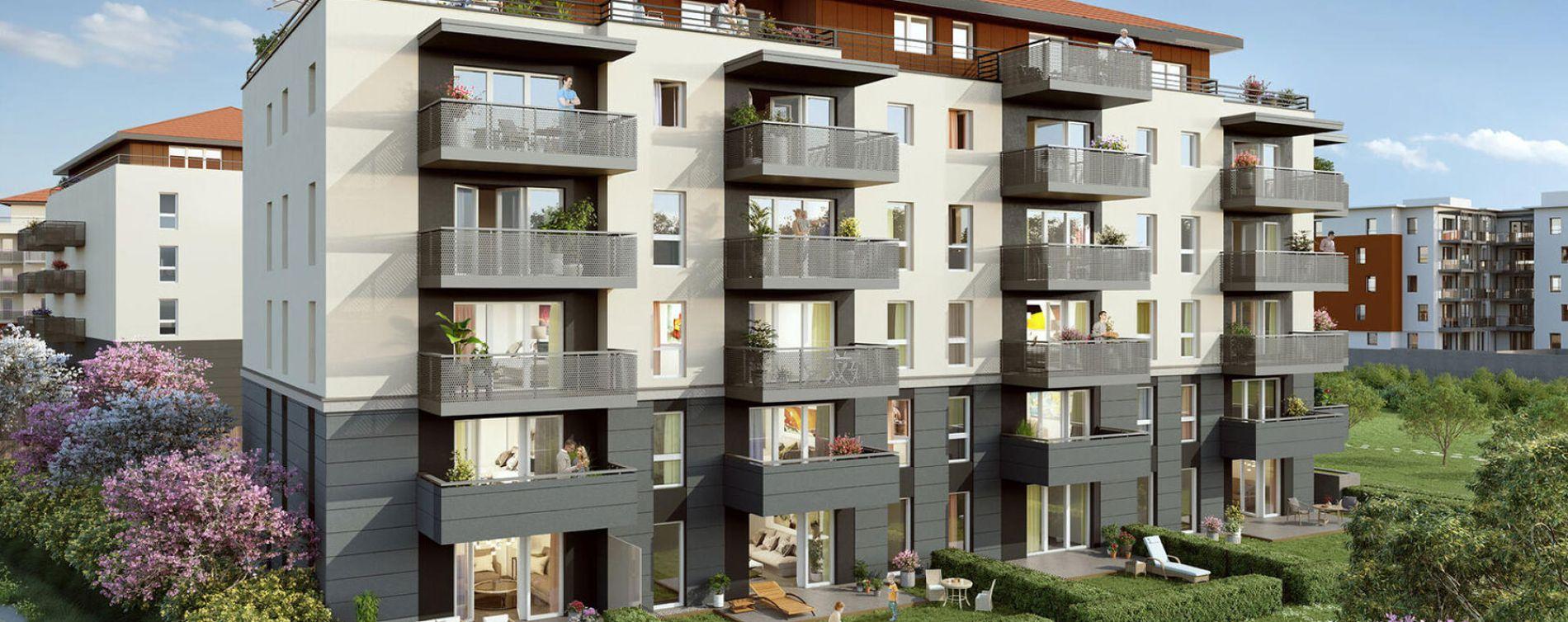 Bonneville : programme immobilier neuve « Programme immobilier n°218894 » en Loi Pinel