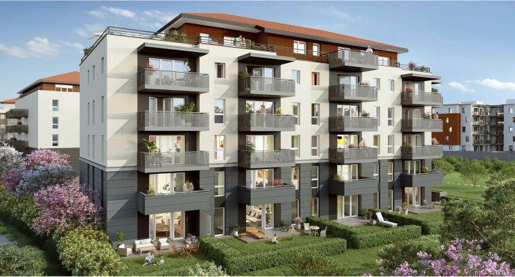 Bonneville : programme immobilier neuf «  n°218894 » en Loi Pinel
