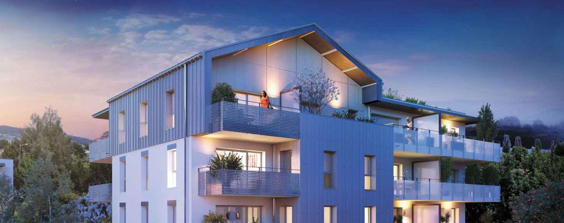 Bons-en-Chablais : programme immobilier neuve « Imagine 2 » en Loi Pinel