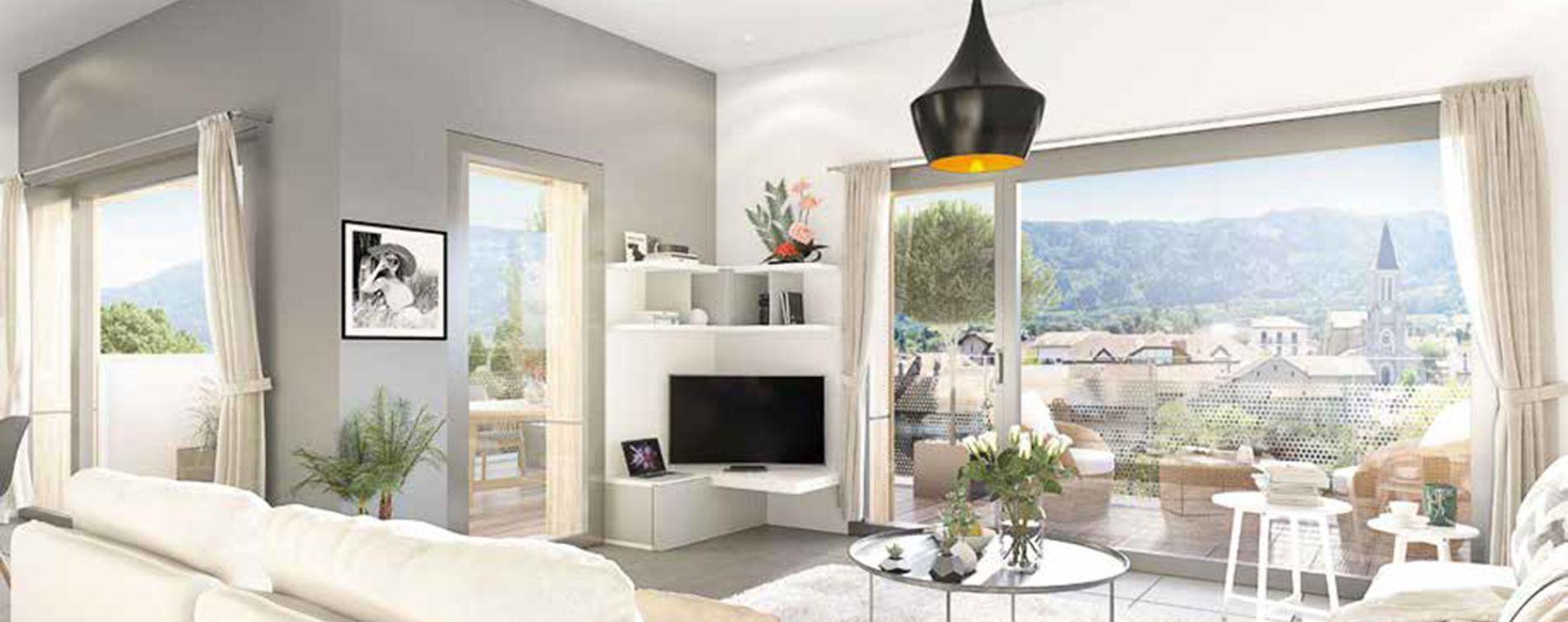 Bons-en-Chablais : programme immobilier neuve « Imagine 2 » en Loi Pinel (2)