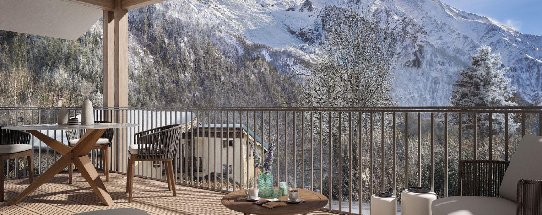 Chamonix-Mont-Blanc : programme immobilier neuve « White Pearl »