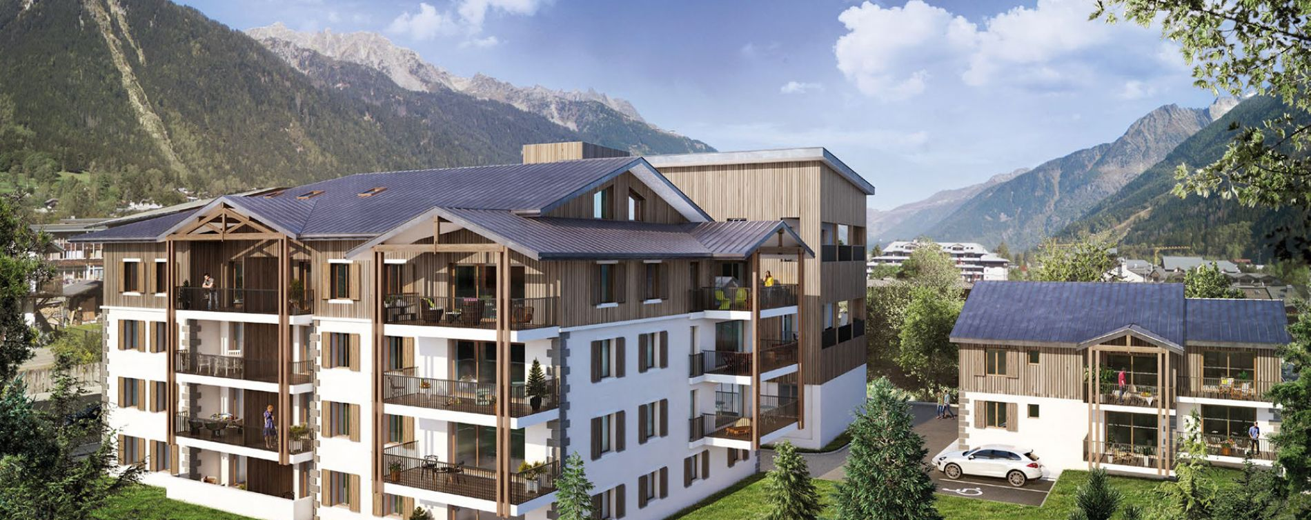 Chamonix-Mont-Blanc : programme immobilier neuve « White Pearl » (3)