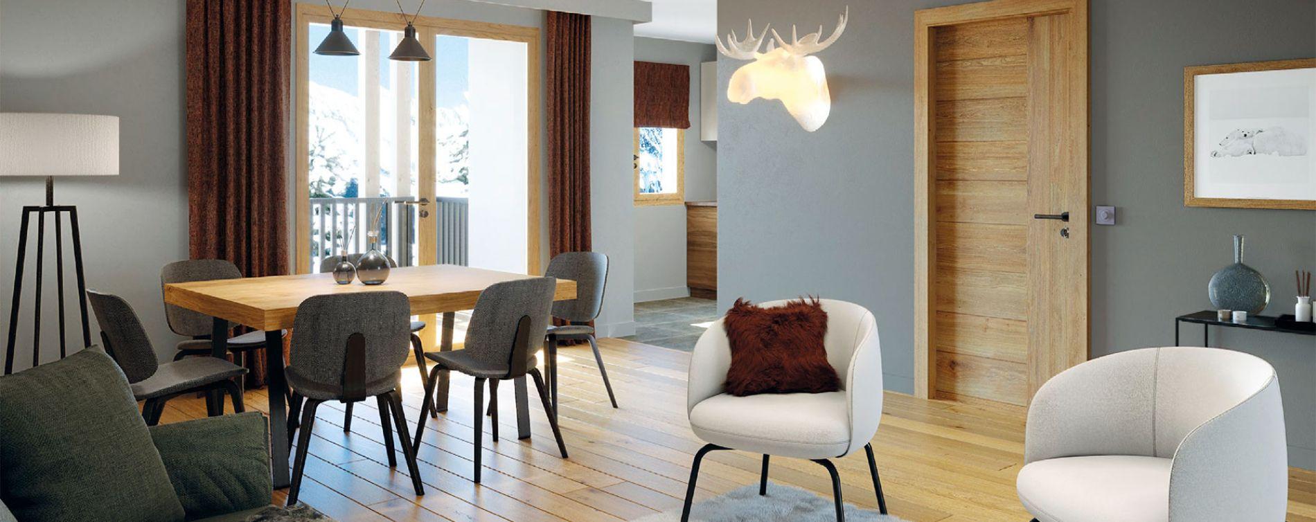 Chamonix-Mont-Blanc : programme immobilier neuve « White Pearl » (5)