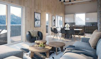 Chamonix-Mont-Blanc programme immobilier neuve « White Pearl »  (4)