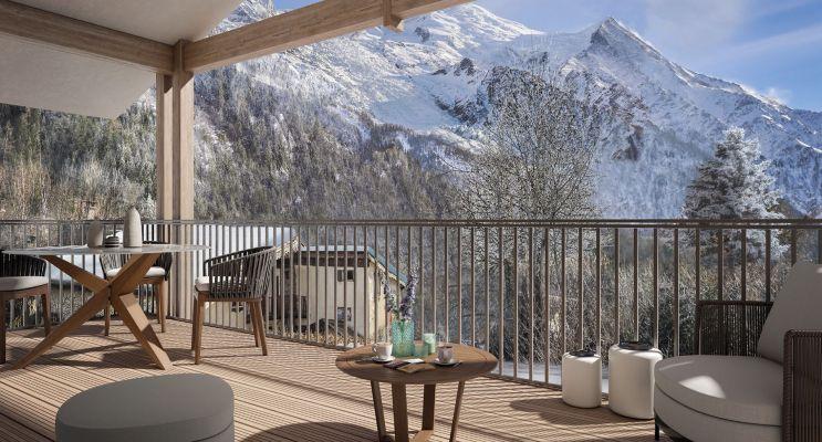Chamonix-Mont-Blanc : programme immobilier neuf « White Pearl »
