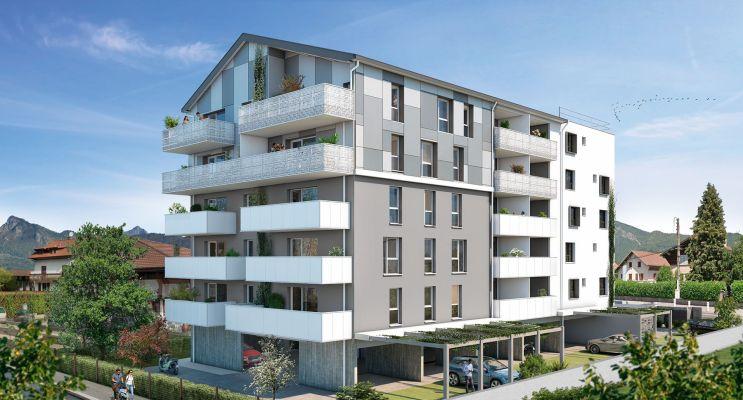 Cluses : programme immobilier neuf « Le Saphir » en Loi Pinel