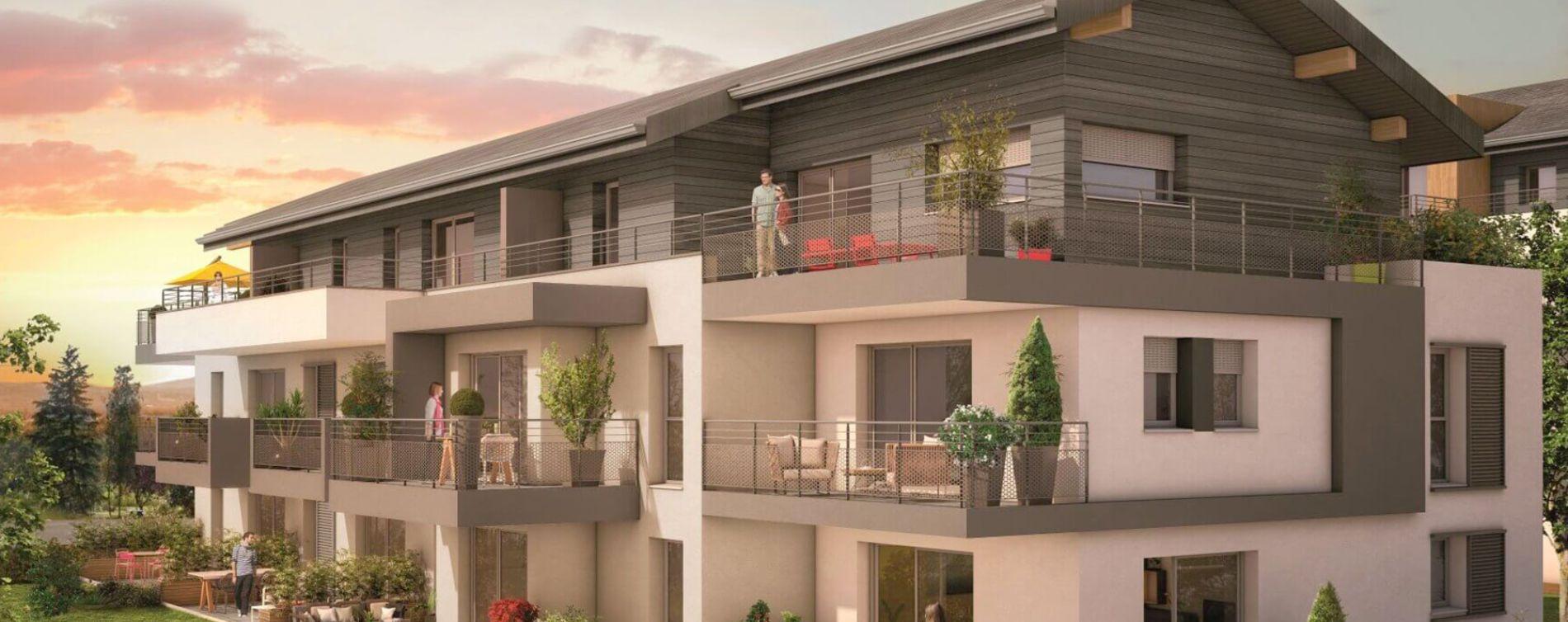 Contamine-sur-Arve : programme immobilier neuve « Panoramik »