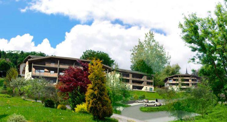 Photo du Résidence « Côté Mont-Blanc » programme immobilier neuf à Domancy