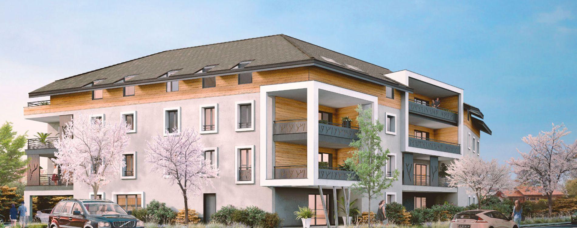 Douvaine : programme immobilier neuve « Esquisse »