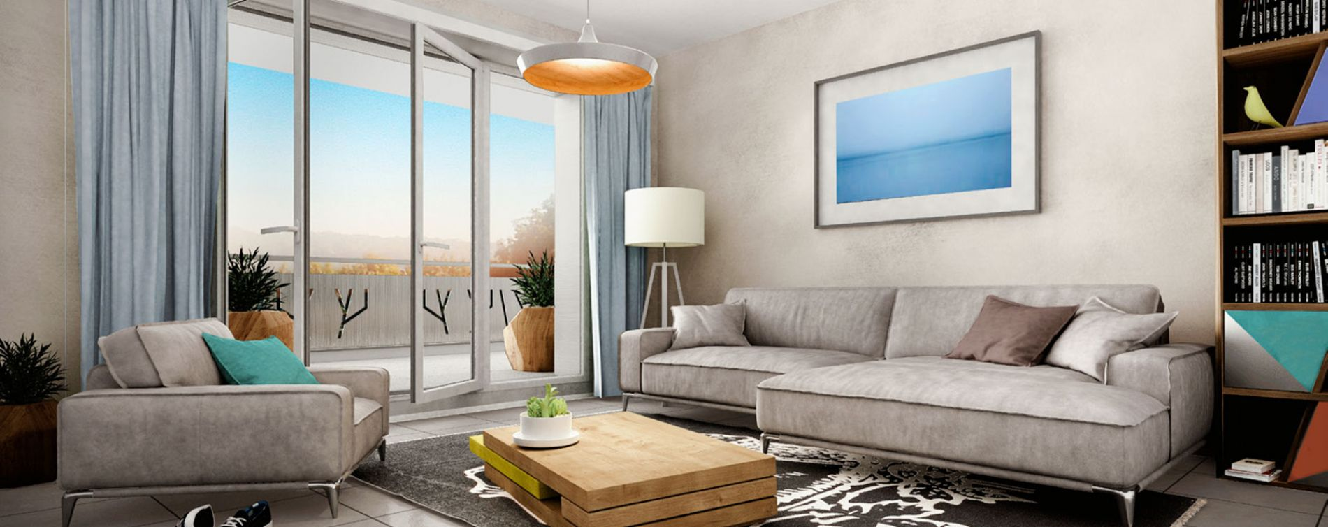 Douvaine : programme immobilier neuve « Esquisse » (2)