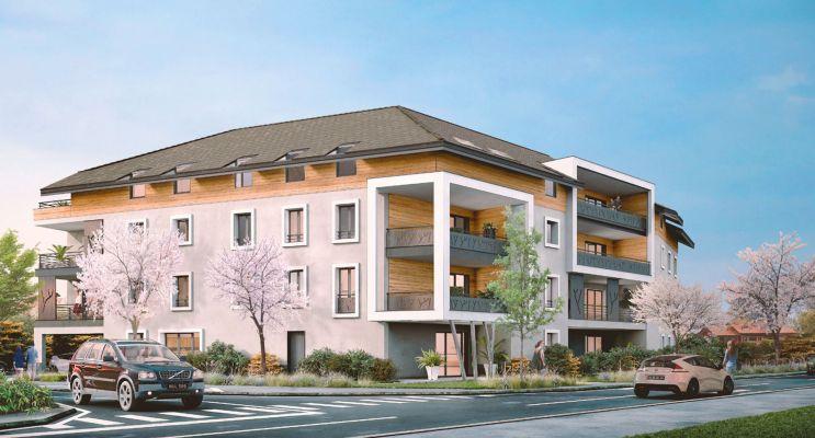 Résidence « Esquisse » programme immobilier neuf en Loi Pinel à Douvaine n°1