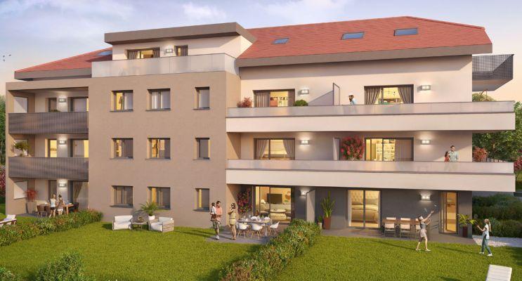 Photo du Résidence « Convergence » programme immobilier neuf en Loi Pinel à Etaux