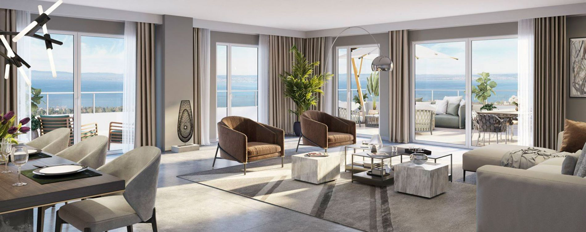 Évian-les-Bains : programme immobilier neuve « Olympe » en Loi Pinel