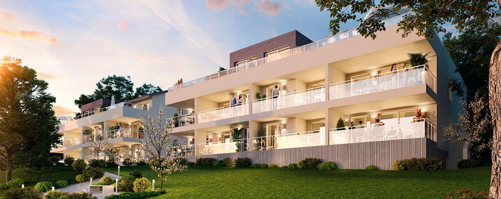 Évian-les-Bains : programme immobilier neuve « Olympe » en Loi Pinel (2)