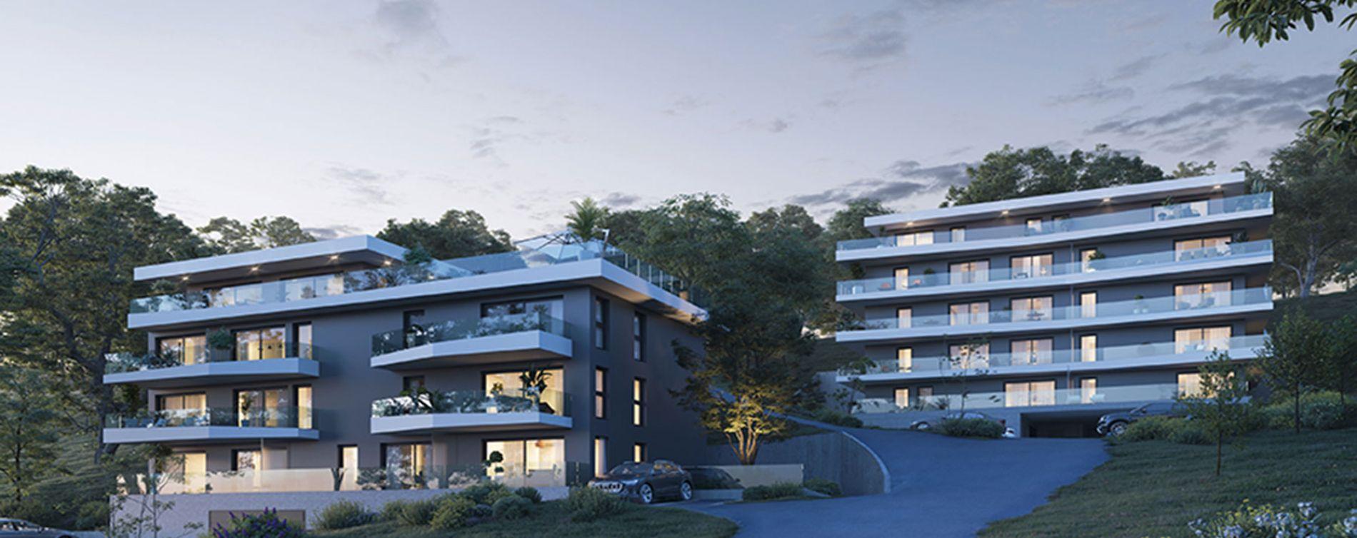 Évian-les-Bains : programme immobilier neuve « Premières Loges » en Loi Pinel
