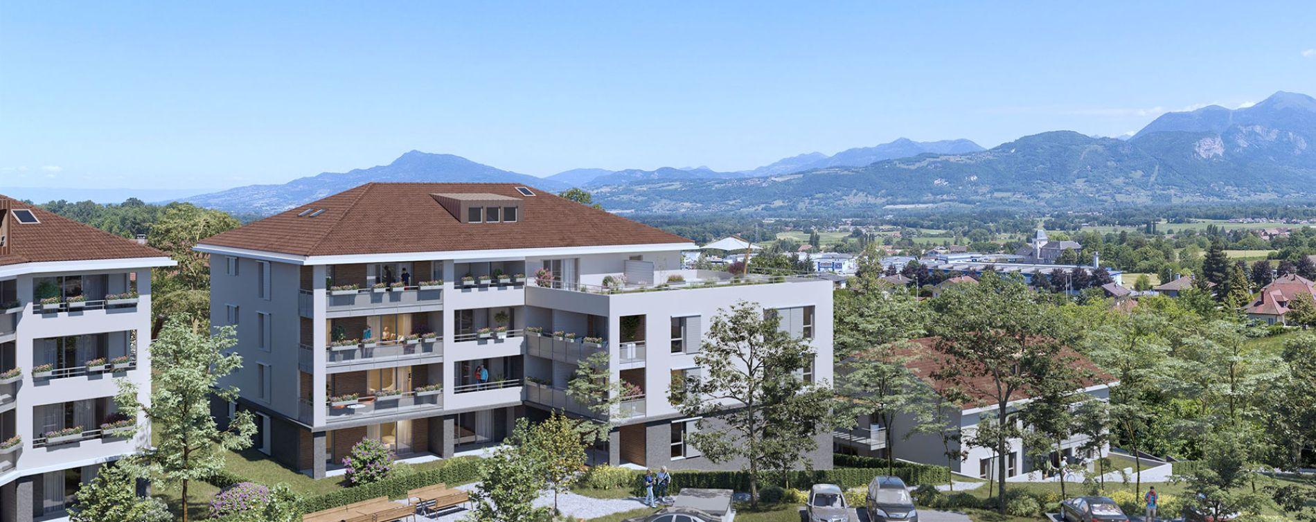 La Roche-sur-Foron : programme immobilier neuve « Via Rocca » en Loi Pinel