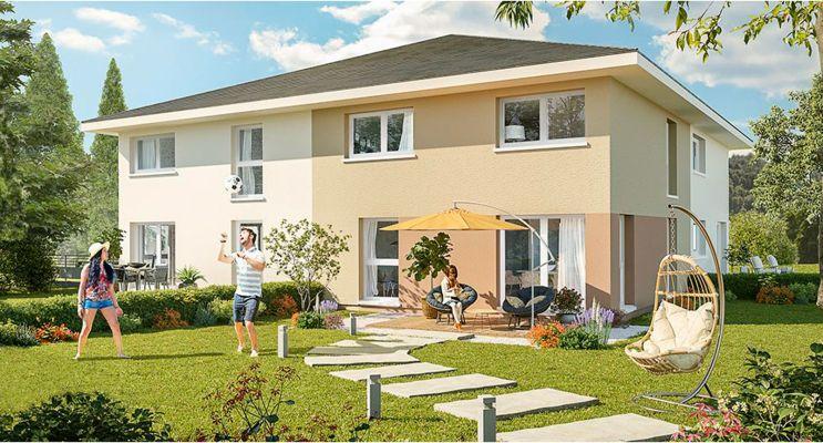 Résidence « Les Carrés De Gavillet » programme immobilier neuf en Loi Pinel à Marcellaz