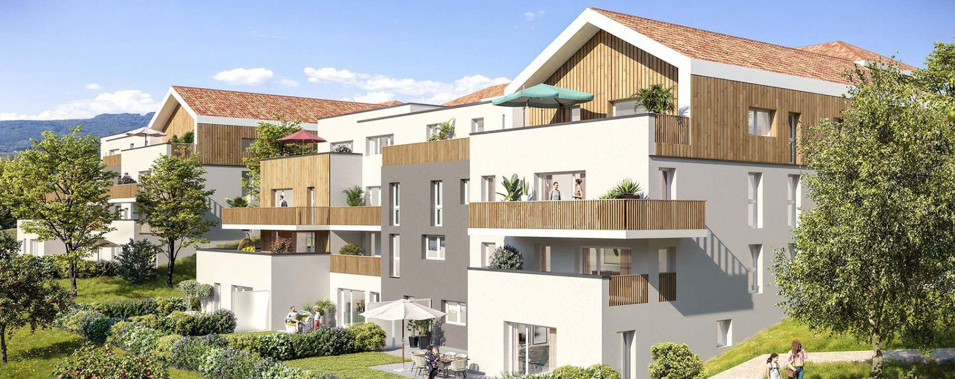 Marigny-Saint-Marcel : programme immobilier neuve « La Clé des Champs »