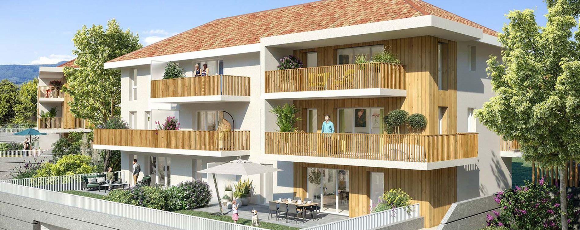 Marigny-Saint-Marcel : programme immobilier neuve « La Clé des Champs » (2)