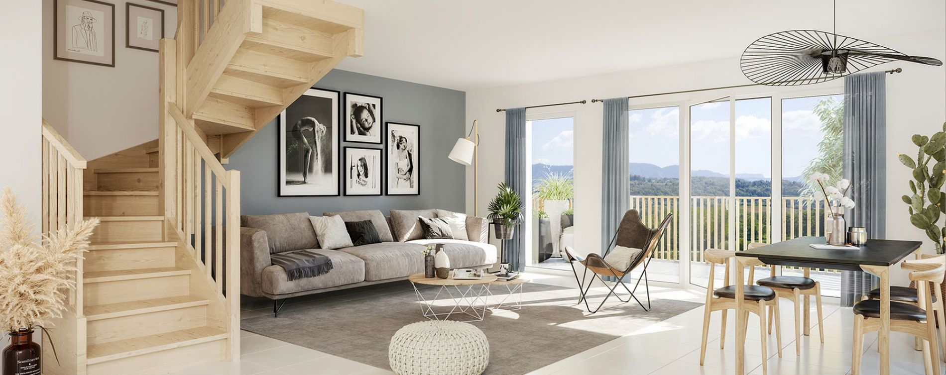 Marigny-Saint-Marcel : programme immobilier neuve « La Clé des Champs » (3)