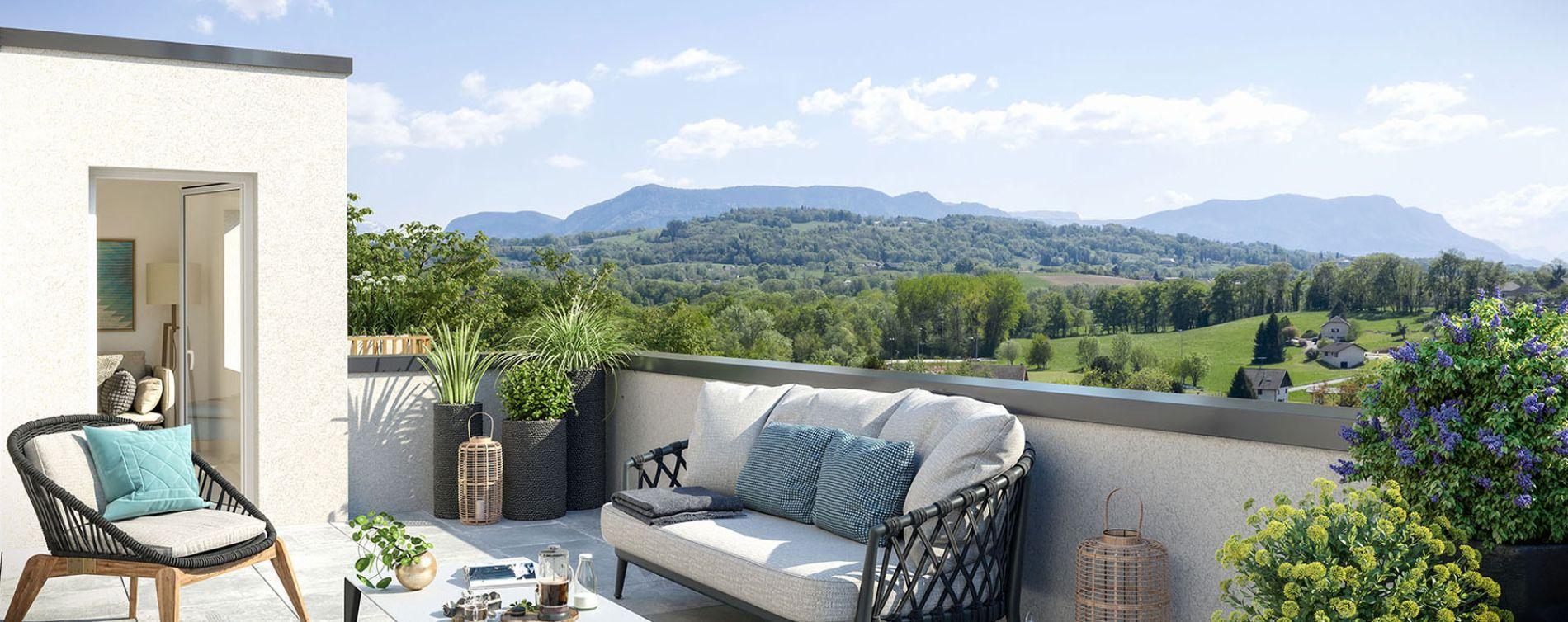 Marigny-Saint-Marcel : programme immobilier neuve « La Clé des Champs » (4)