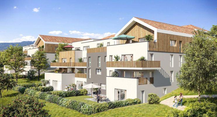 Photo du Résidence « La Clé des Champs » programme immobilier neuf à Marigny-Saint-Marcel