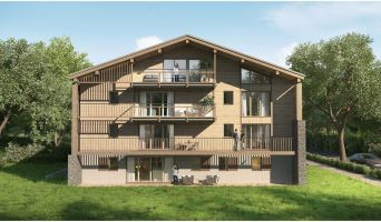 Megève programme immobilier neuve « Le Hameau des Retornes »  (3)