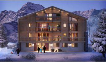 Megève programme immobilier neuve « Le Hameau des Retornes »  (4)