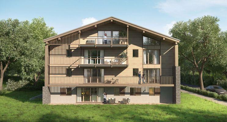Photo n°3 du Résidence « Le Hameau Des Retornes » programme immobilier neuf à Megève