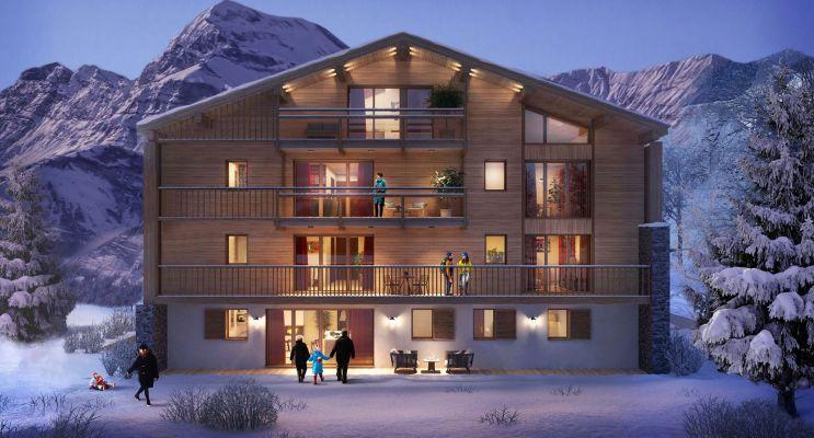 Photo n°4 du Résidence « Le Hameau Des Retornes » programme immobilier neuf à Megève
