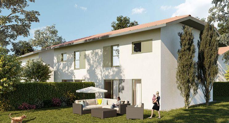 Photo du Résidence « Les Jardins de Paul » programme immobilier neuf à Messery