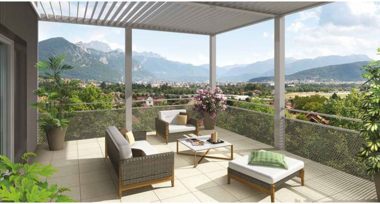 Metz-Tessy : programme immobilier neuf « Emblem Acte II » en Loi Pinel