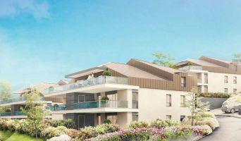 Neuvecelle programme immobilier neuve « Scène du Leman » en Loi Pinel  (3)