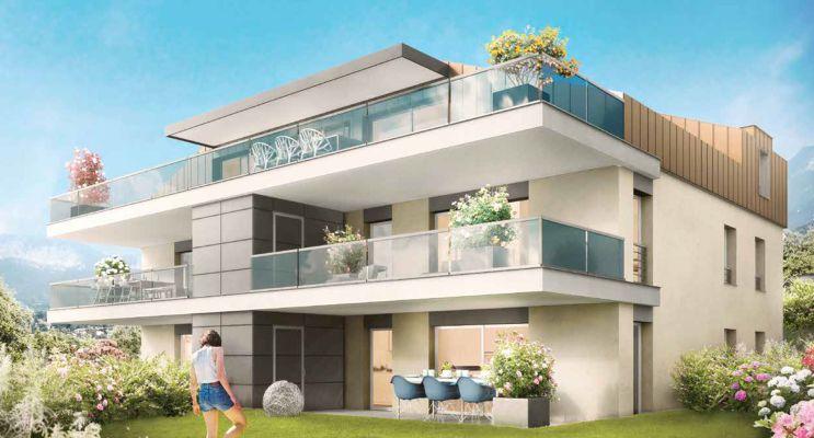 Résidence « Scène Du Leman » programme immobilier neuf en Loi Pinel à Neuvecelle n°2