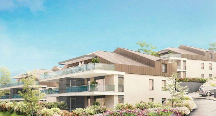 Résidence « Scène Du Leman » programme immobilier neuf en Loi Pinel à Neuvecelle n°3