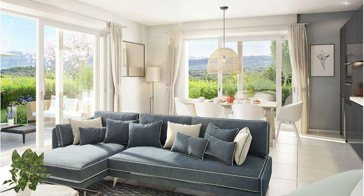 Résidence « Cinq Sens » programme immobilier neuf en Loi Pinel à Poisy n°2