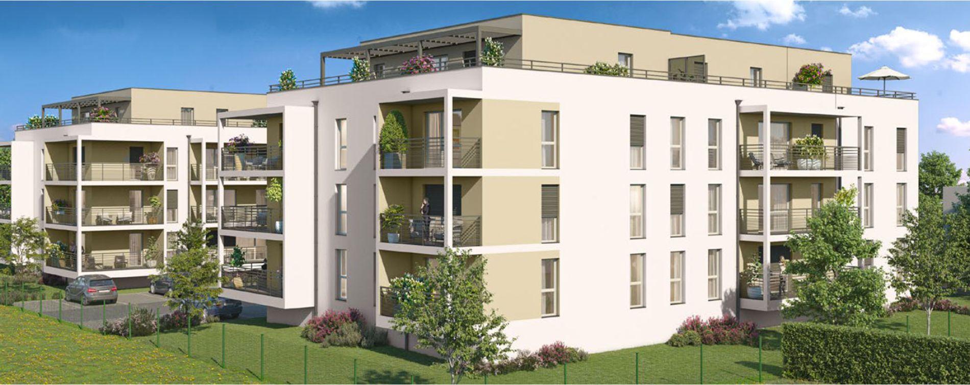 Publier : programme immobilier neuve « Leman Escence » en Loi Pinel