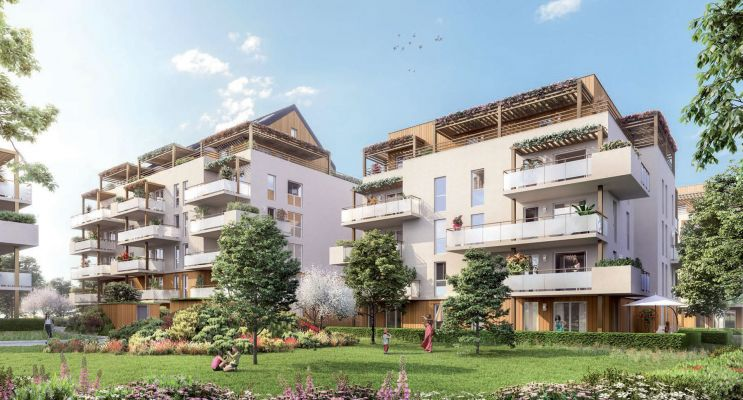 Photo du Résidence « Green Valley » programme immobilier neuf en Loi Pinel à Rumilly