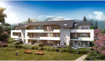 Saint-Pierre-en-Faucigny : programme immobilier neuf « Autour d'un Jardin » en Loi Pinel
