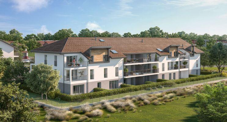 Résidence « Le Domaine Des Grives » programme immobilier neuf en Loi Pinel à Saint-Pierre-en-Faucigny n°2