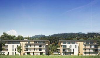 Sallanches programme immobilier neuve « Le Domaine du Grand Pré » en Loi Pinel  (2)