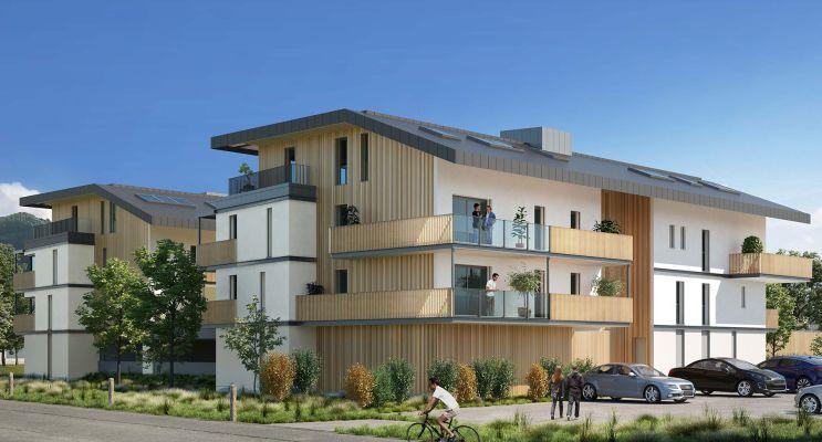 Photo du Résidence « Le Domaine du Grand Pré » programme immobilier neuf en Loi Pinel à Sallanches