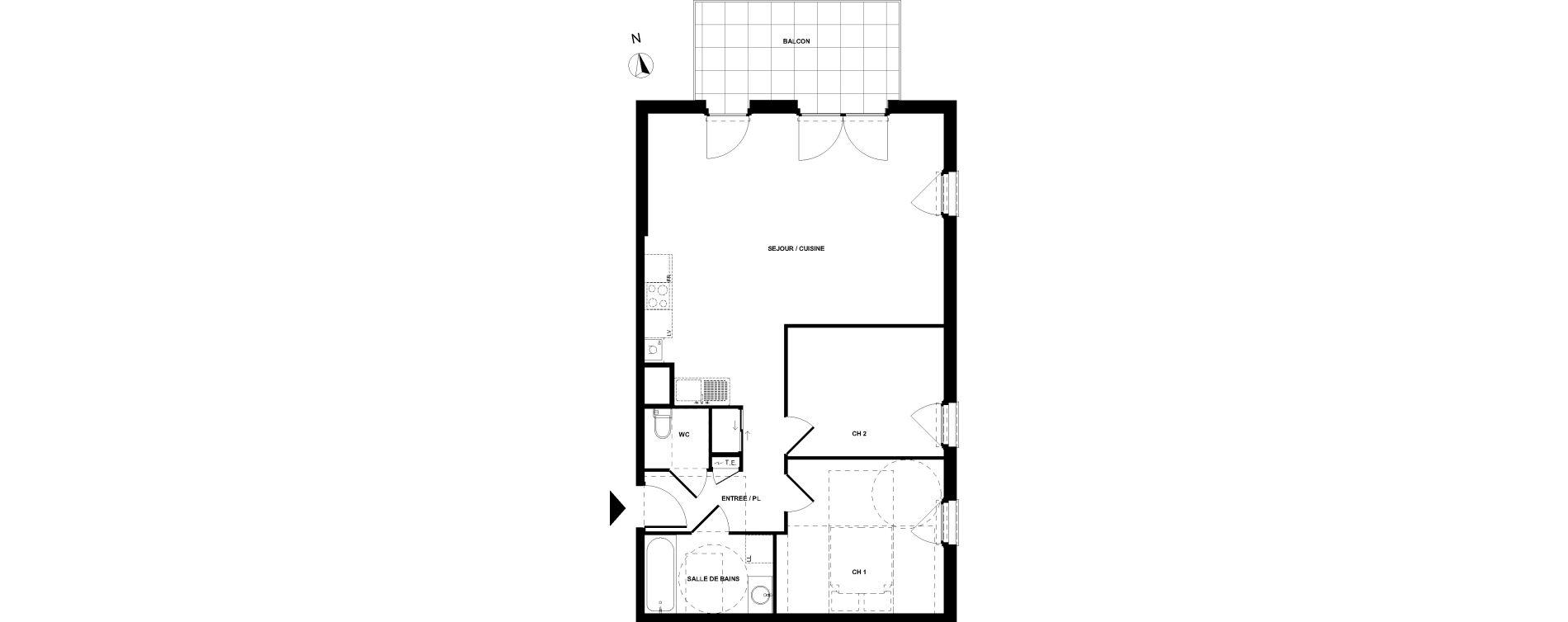 Appartement T3 de 68,27 m2 à Sallanches Centre