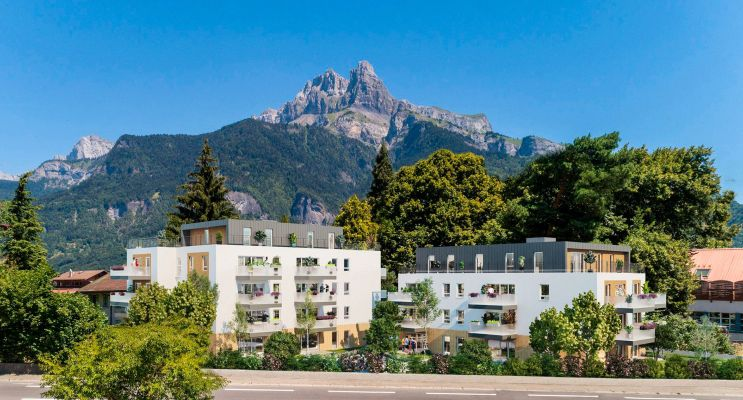 Sallanches : programme immobilier neuf « Up » en Loi Pinel