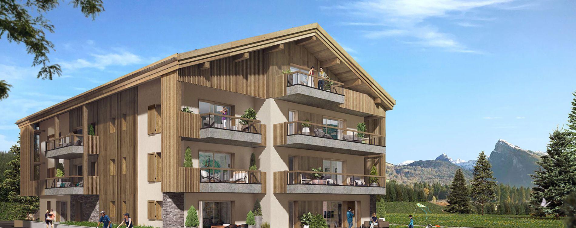 Samoëns : programme immobilier neuve « Le 7 »