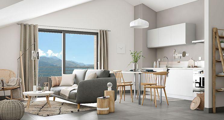 Résidence « Insitu » programme immobilier neuf en Loi Pinel à Thônes n°3